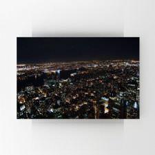 New York Gece Manzarası Tablosu