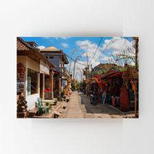 Bali Sokakları Tablosu