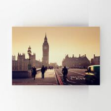 Londra Güne Başlıyor Tablosu