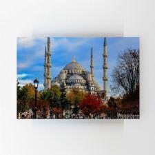 Sonbaharda Sultan Ahmet Camii