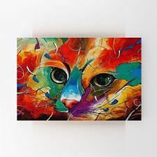 Kedi İllustrasyonu Tablosu