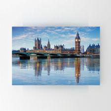 Thames Nehri'nden Londra Manzarası Tablosu