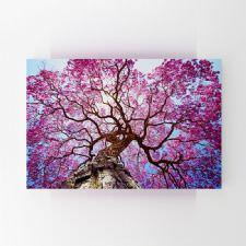 Pembe Lapaku Ağacı Tablosu