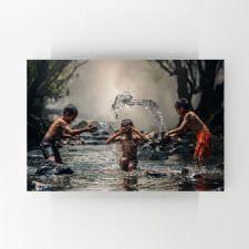 Nehirdeki Çocuklar Tablosu