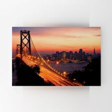 Gün Batımında Köprü Manzarası