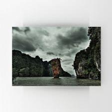 Tayland İç Denizde Ada Tablosu