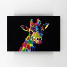 Zürafa İllustrasyonu Tablosu