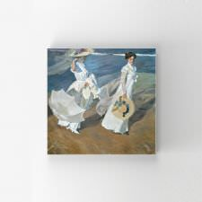 Joaquin Sorolla - Walk on the Beach Tablosu