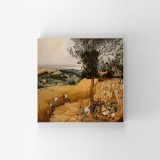 Pieter Brueghel - Hasat Zamanı Tablosu
