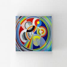 Robert Delaunay - Rythme No 1 Tablosu