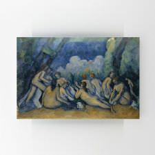 Paul Cezanne - Banyo Yapanlar Tablosu