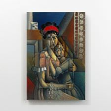Jean Metzinger - Femme a La Fenetre Tablosu