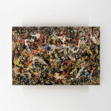 Jackson Pollock - Yakınsama Tablosu