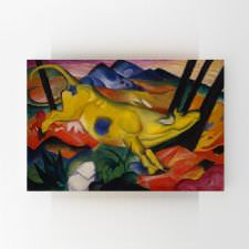Franz Marc - The Yellow Cow Tablosu