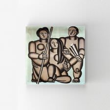 Fernand Leger - Three Characters Tablosu