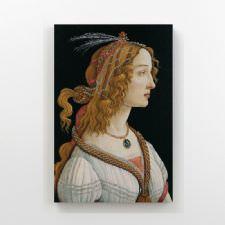 Sandro Botticelli - Portrait Tablosu