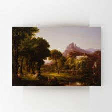 Thomas Cole - Dream of Arcadia Tablosu