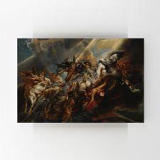 Peter Paul Rubens - Phaetonun Düşüşü Tablosu
