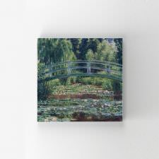 Claude Monet - Japanese Footbridge Tablosu