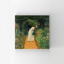 Lord Frederick Leighton - My Ladys Garden Tablosu