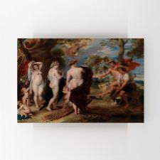Peter Paul Rubens - Parisin Yargısı Tablosu