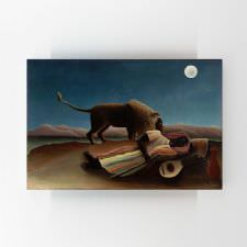 Henri Rousseau - Sleeping Gypsy Tablosu
