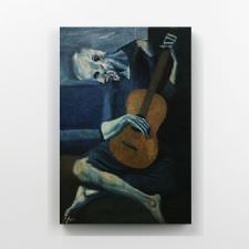 Pablo Picasso - The Old Guitarist Tablosu