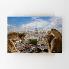 Paris Manzarası Tablosu