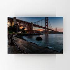 Golden Gate Gün Batımı Tablosu