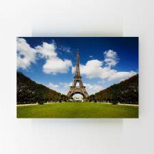 Karşıdan Eiffel Kulesi Tablosu