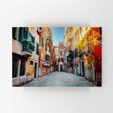 İtalya Sokakları Tablosu