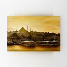 Gün Batımında İstanbul Manzarası