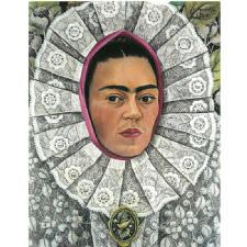 Frida Kahlo - Self Portrait Tablosu