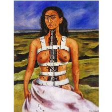 Frida Kahlo - The Broken Column Tablosu