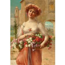 Emile Vernon - Beautiful Women Tablosu