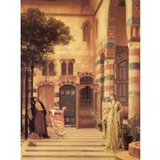 Frederic Leighton - Old Damascus Tablosu