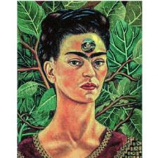 Frida Kahlo - Thinking About Death Tablosu