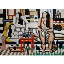 Fernand Leger - Three Women Tablosu