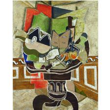 Georges Braque - The Round Table Tablosu