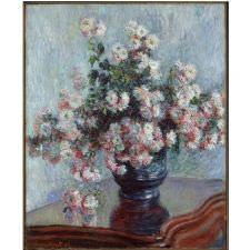 Claude Monet - Kasımpatı Çiçekleri Tablosu
