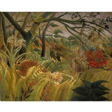 Henri Rousseau - Tiger Tablosu