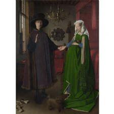 Jan van Eyck - Arnolfininin Evlenmesi Tablosu