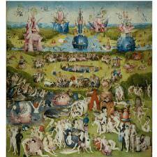 Hieronymus Bosch - Dünyevi Zevkler Bahçesi Tablosu