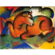 Franz Marc - The Red Bull Tablosu