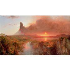 Frederic Edwin Church - Cotopaxi Tablosu