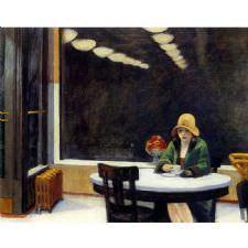 Edward Hopper - Automat Tablosu