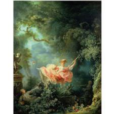 Jean Honore Fragonard - Swing Tablosu