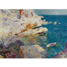 Joaquin Sorolla - The Sea Tablosu