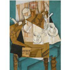 Juan Gris - Le Petit Dejeuner Tablosu