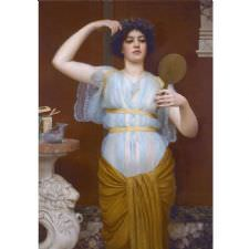 John William Godward – Lone Tablosu